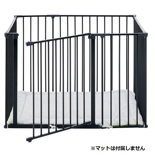 スクエアゲート(マット無) 2色(黒・白)