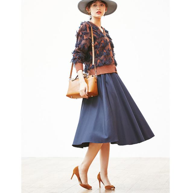 《with2月号掲載》10月28日22:00再販!【Circular skirt】サーキュラー スカート