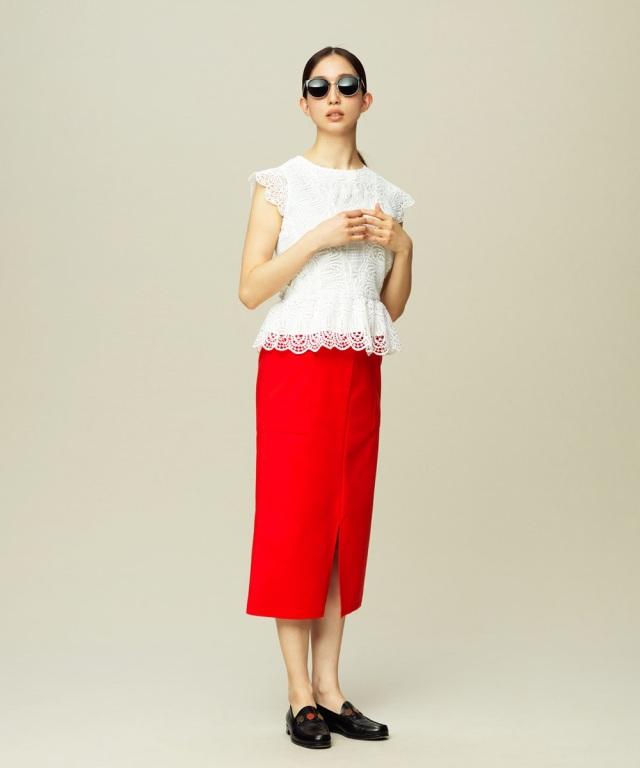 《松島花さん着用》ハイウエストポケットタイトスカート