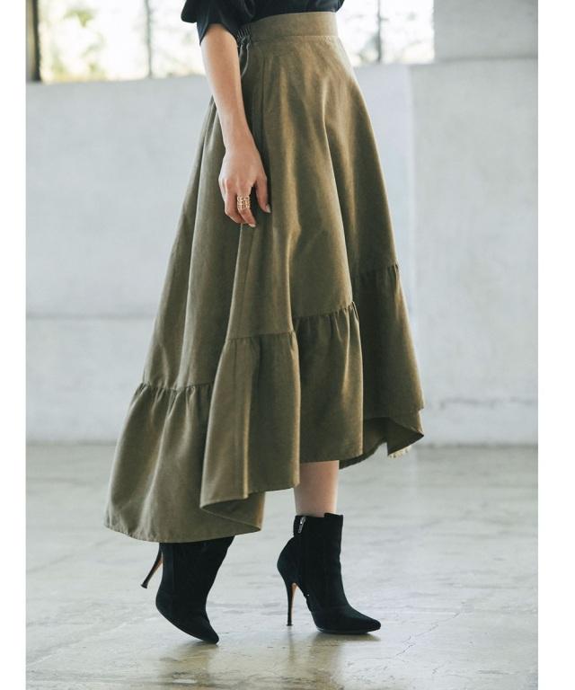 《マシェリコラボ》ラップ風スカート