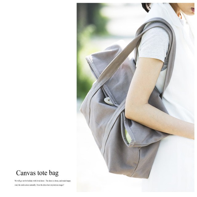 【Canvas tote bag】レディース キャンバス バッグ