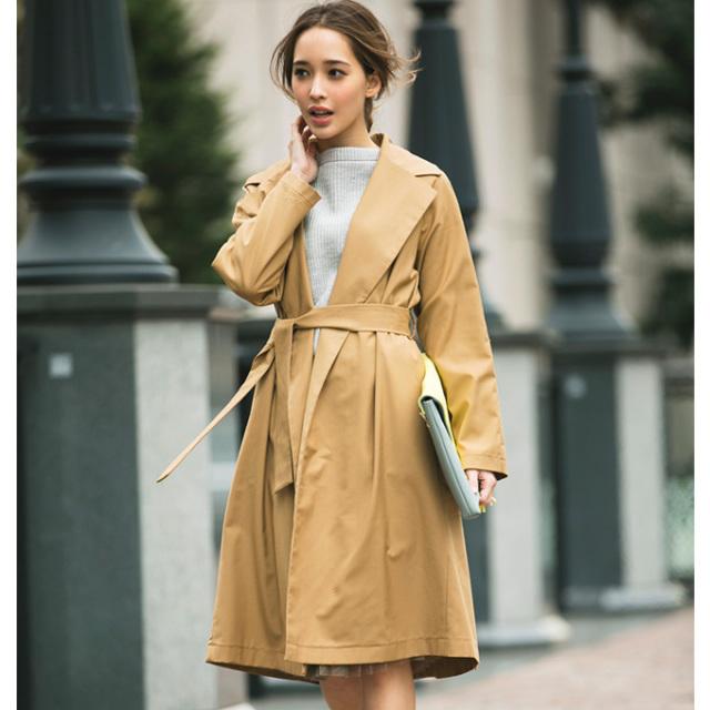 【Spring gown coat】レディース スプリング コート *SALE品につき返品/交換/注文確定後の変更キャンセル不可*