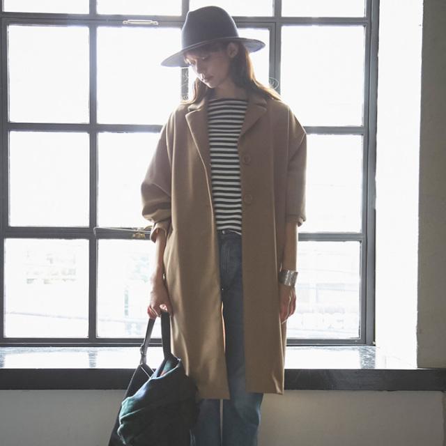 【Chester coat】レディース チェスター コート*SALE品につき返品/交換/注文確定後の変更キャンセル不可*