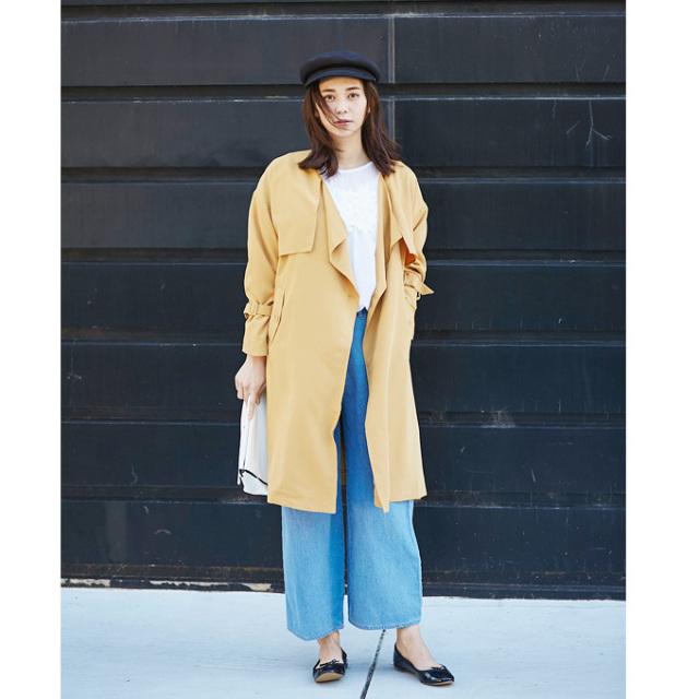 【Trench coat】レディース  テロンチ コート