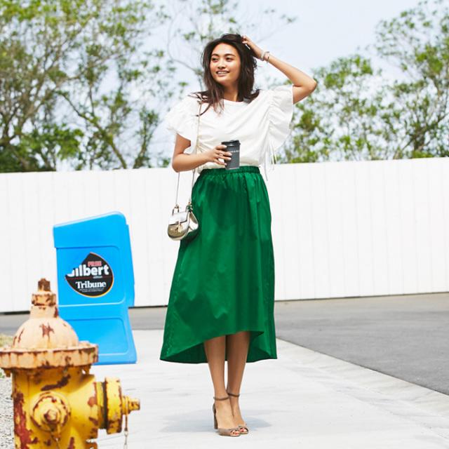 【Fish tale skirt】フィッシュテール スカート*SALE品につき返品/交換/注文確定後の変更キャンセル不可*