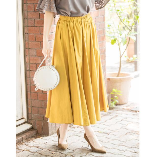 【Volume long skirt】レディース  ボリューム ロング スカート*SALE品につき返品/交換/注文確定後の変更キャンセル不可*