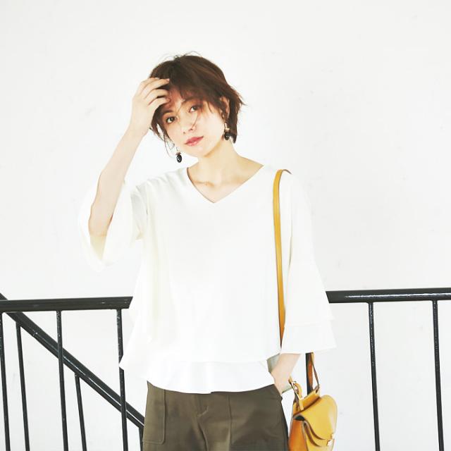 【Flare blouse】フレア ブラウス