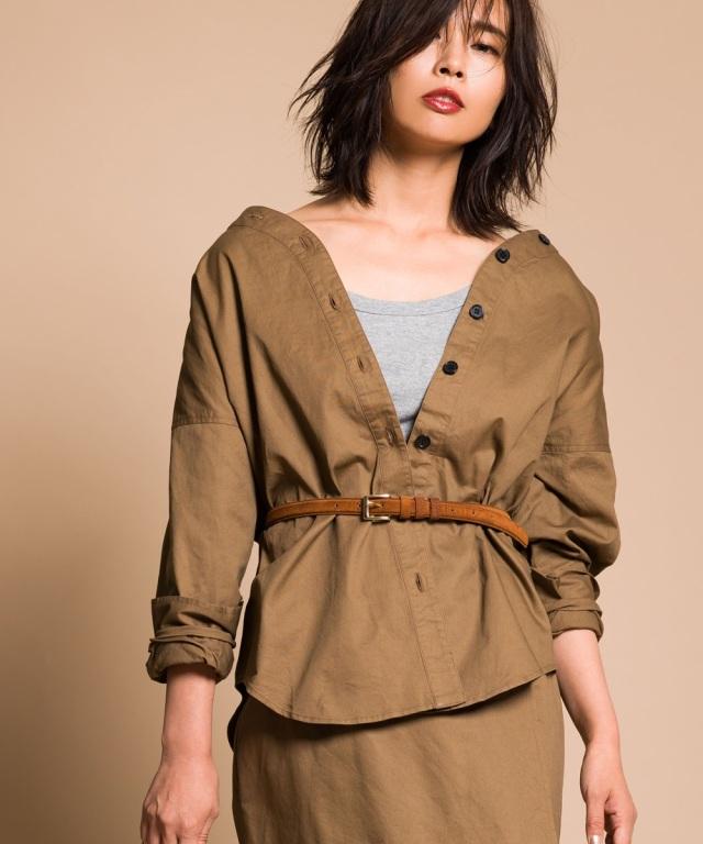 《yokoさんコラボ》シャツジャケット