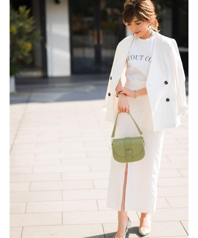 《Noriko&Michiko Collaboration》リネンタイトロングスカート*SALE品につき返品/交換/注文確定後の変更キャンセル不可*