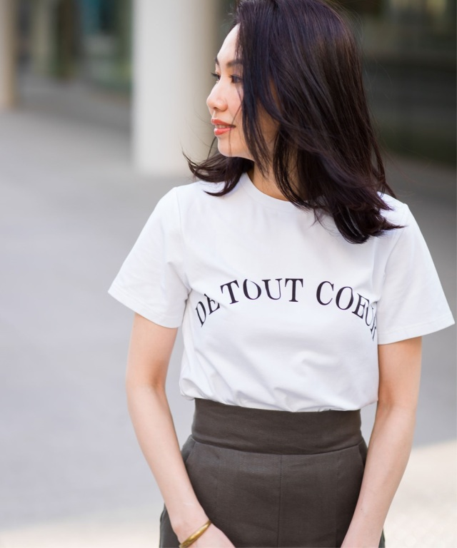 《Noriko&Michiko Collaboration》ロゴTシャツ