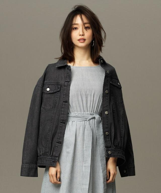 【松島花さん着用】オーバーサイズデニムジャケット