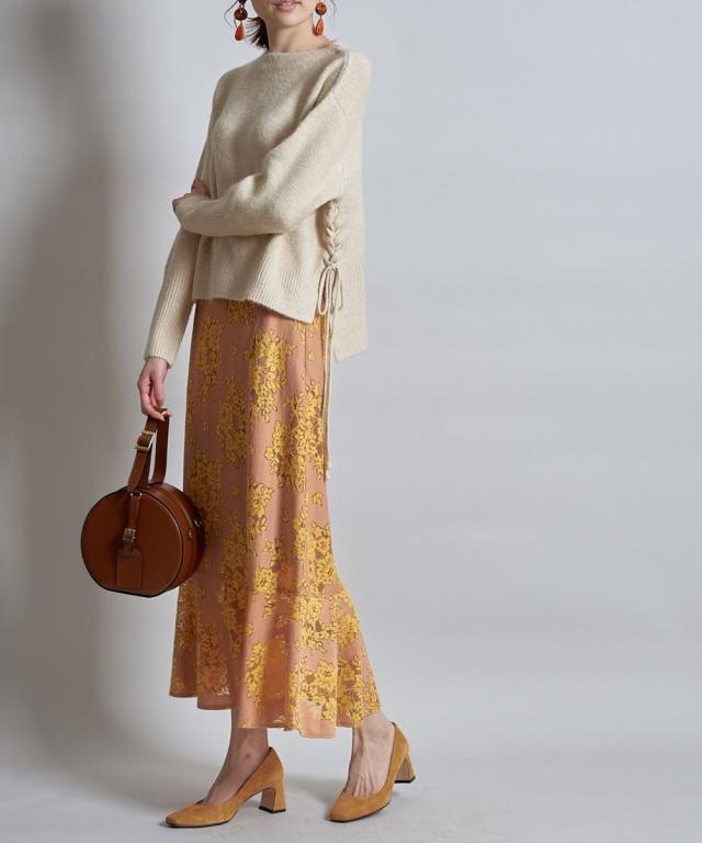11月15日午前0:00再販!配色レースマーメイドスカート