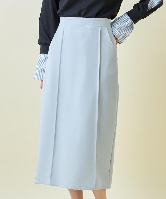 タックデザインタイトスカート