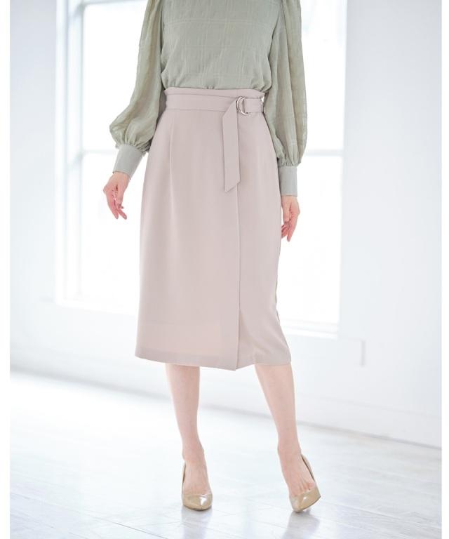 【@skinholictokyoセレクト】ベルト付きタイトスカート《Suger Color Collection》