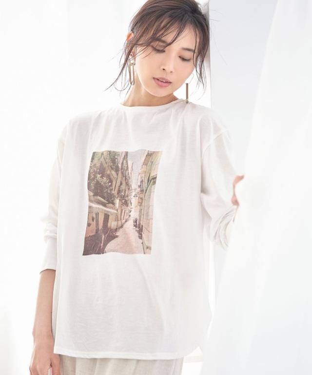 《early summer》フォトプリントTシャツ