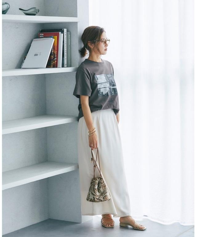 【@sa_youuさん着用】マットサテンナロースカート