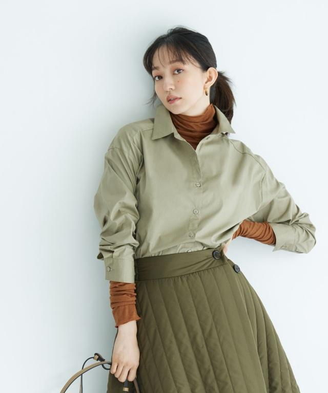 10月5日午前0:00 WEB Store限定再販!《松島花さん着用》シャツスカートセットアップ