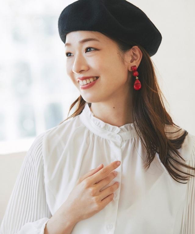 【石井亜美さん着用】ベレー帽《一部店舗のみ入荷》