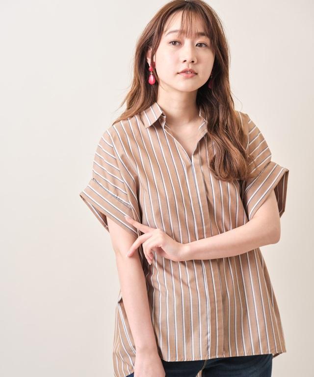 2021年5月3日オフィシャルサイト限定少量再販!ドルマン半袖シャツ