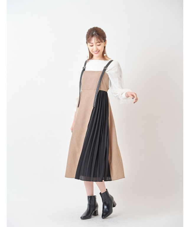 ツイードジャンパースカート※一部店舗のみ入荷