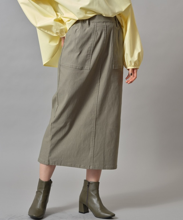ビックポケットタイトスカート※一部店舗のみ入荷