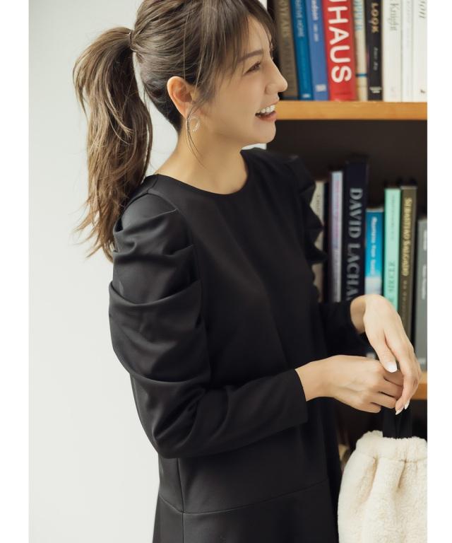 《美香さん着用》《喜田彩子さん着用》エコファー巾着バッグ※WEB Store限定販売
