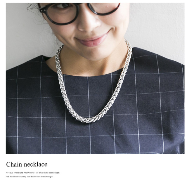 ≪CLASSY.7月号掲載≫10月6日午前0:00再販【Chain necklace】レディース ネックレス