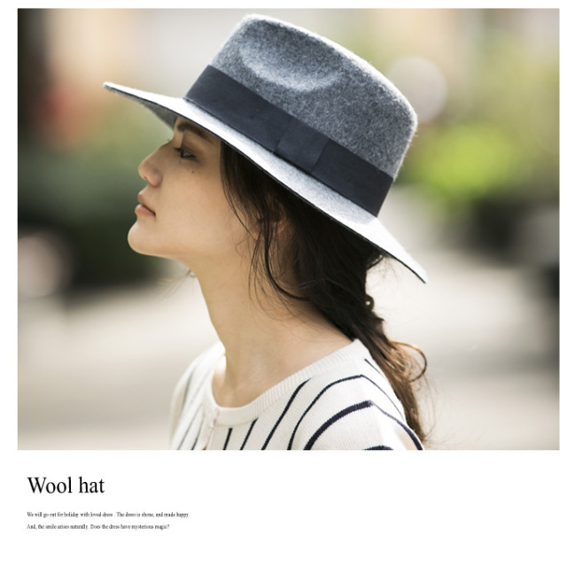 【Wool hat】レディース ウール ハット