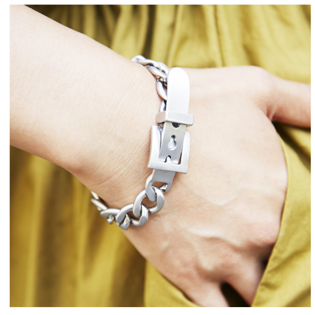 【Chain bracelet】レディース チェーン ブレスレット