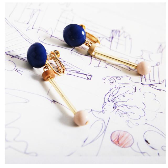 【Motif Earrings】レディース イヤリング