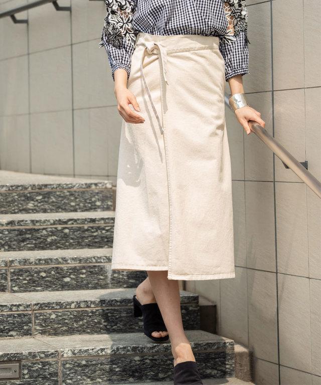 《WEB限定》ラップスカート