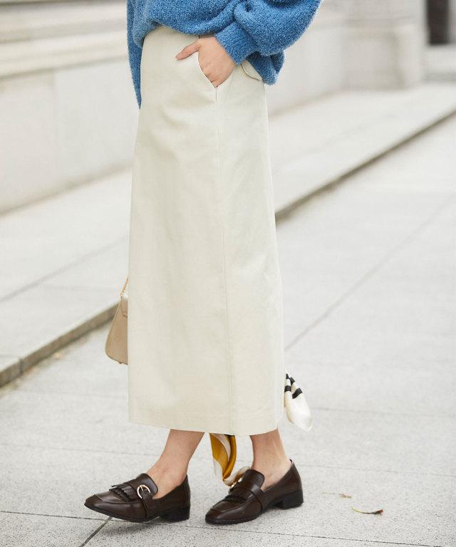 《WEB限定》コットンマキシスカート