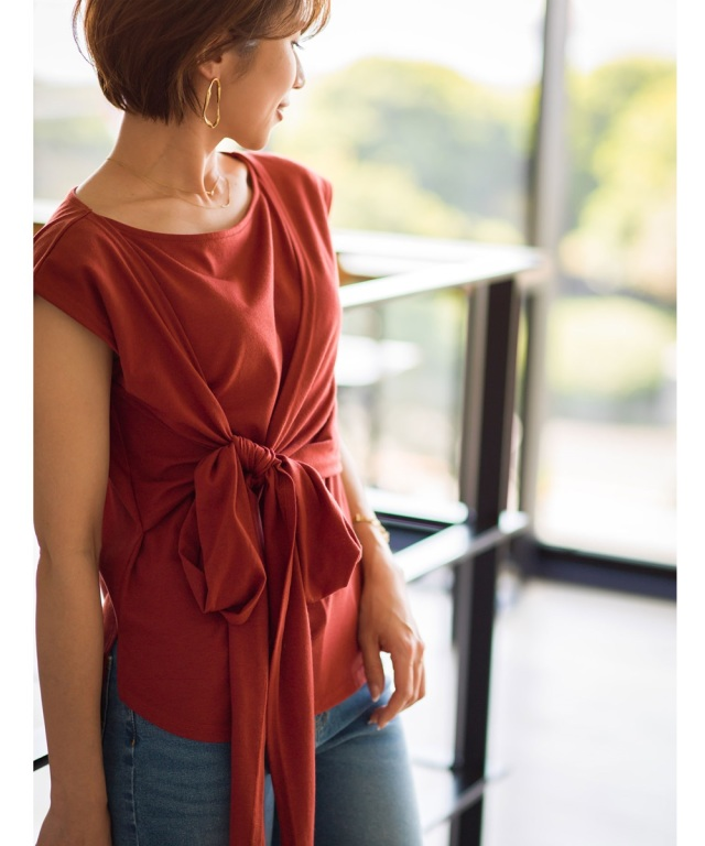 《@yu.rm さん着用》《@ma_anmiさん着用》カシュクールTシャツ