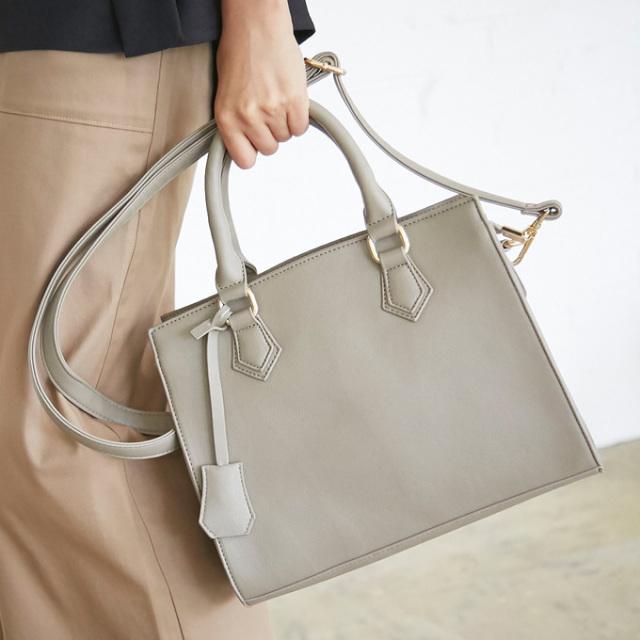529fd79da650c8 ≪AneCan 11月号掲載≫【Square 2way bag】レディース スクエア バッグ