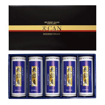 29年産 魚沼産コシヒカリ米缶ギフト 750g缶×5本セット