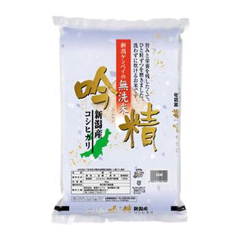 29年産 無洗米 新潟産コシヒカリ5kg