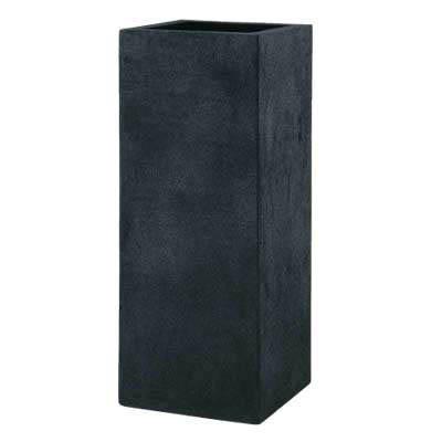 【植木鉢/軽量鉢/プランター】BLヘリッチ L100(ブラックアイロンライト)EB-18063600