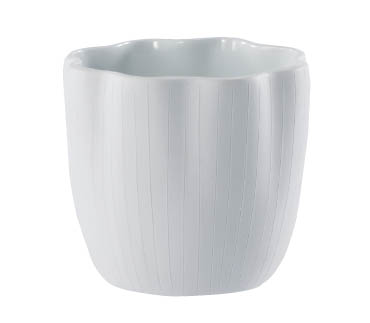 【インテリア/室内用植木鉢】エフ フラワー ホワイト 10cm ML-20-3014