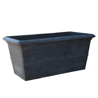 TM プランター グレー 100cm(植木鉢/プランター/軽量鉢/樹脂製)テラミックスSD-H04100G