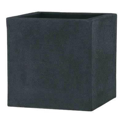 【植木鉢/軽量鉢/プランター】BLチェルトンハム 50cm(ブラックアイロンライト)EB-18063150