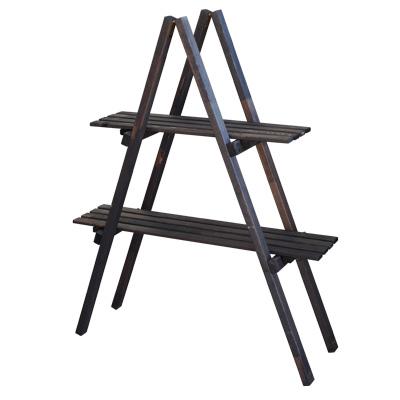 ウッド棚はしご