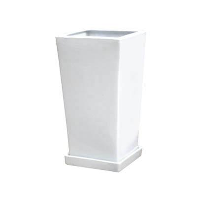 【インテリア鉢/室内用植木鉢】LO エルオースクエアー 15cm HO-101-1SW