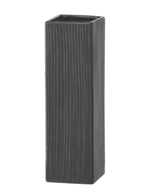 【インテリア/室内用植木鉢】エフ ソフィア ブラック H17cm ML-10-4002