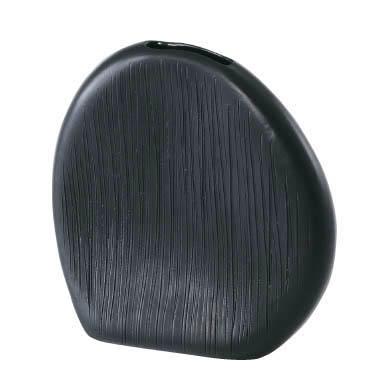 【インテリア/室内用植木鉢】エフ ナニー  ブラック 20cm ML-10-4076