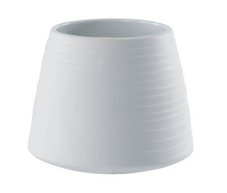 【インテリア/室内用植木鉢】エフ ポピー ホワイト 13cm ML-20-9043