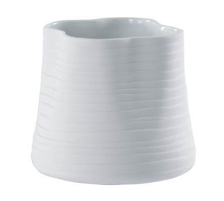 【インテリア/室内用植木鉢】エフ ルーズィー ホワイト 13cm ML-20-9047