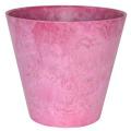 アートストーン ラウンド ピンク
