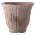 【テラコッタ/植木鉢】 シェリーナポット アンティコ(EB-34255033GI)33cm