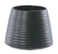 【インテリア/室内用植木鉢】エフ ポピー ブラック 13cm ML-10-9043