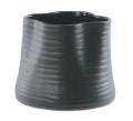 【インテリア/室内用植木鉢】エフ ルーズィー ブラック 13cm ML-10-9047